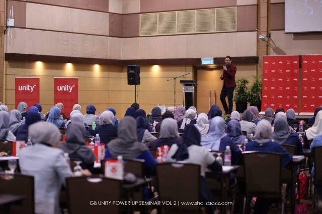 G8 UNITY POWER UP SEMINAR VOL 2 2018