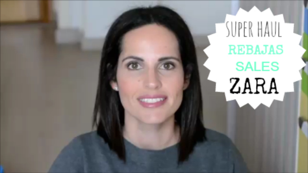 video-super-haul-rebajas-zara-sales-youtube