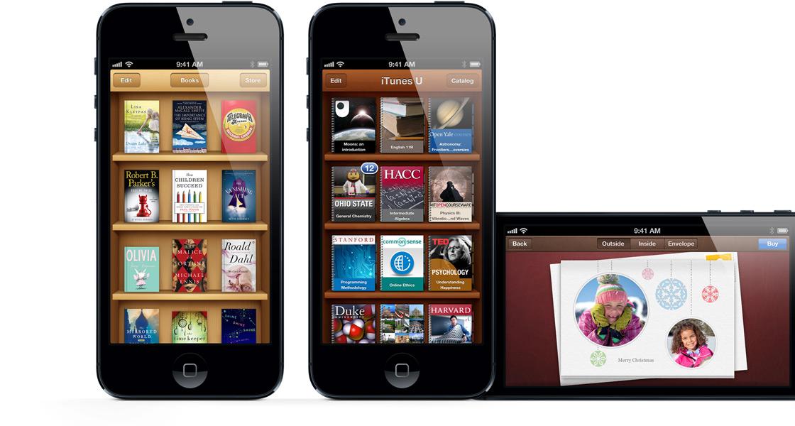 "d6863491b كشفت شركة آبل الأمريكية اليوم رسمياً عن هاتفها الذكي ""آيفون 5″، وقالت بأنه  أفضل جهاز آيفون صنعته على الإطلاق."