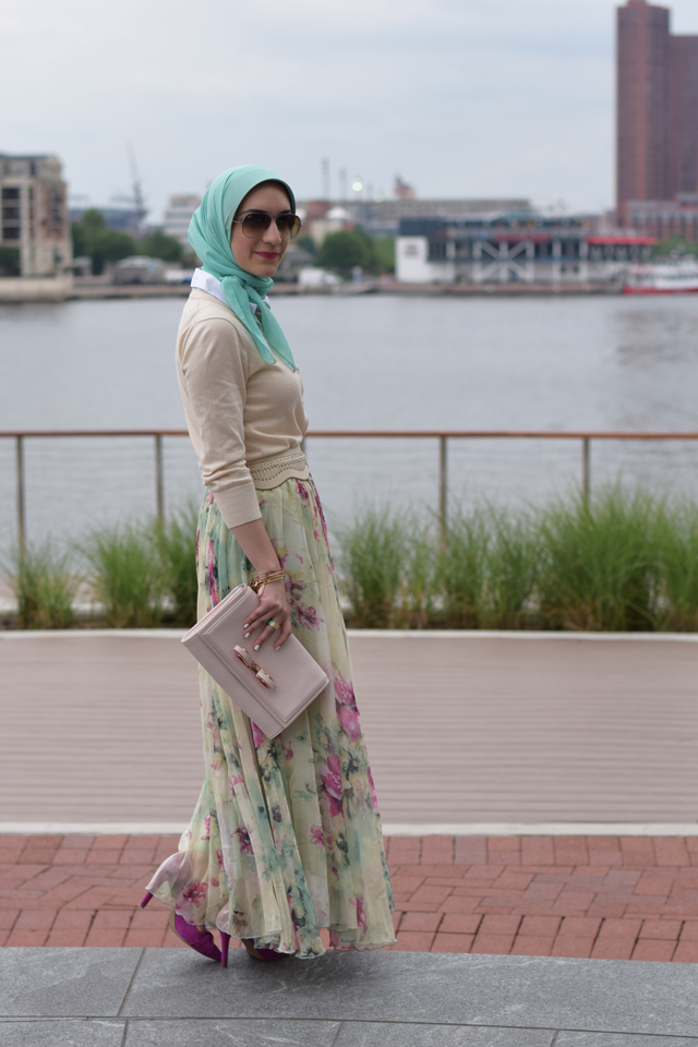 Fashion; Modesty; Fashion Blog; Hijab; Chicwish; Maxi Skirt