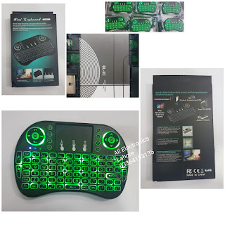 Wireless Mini Keyboard + touch pad
