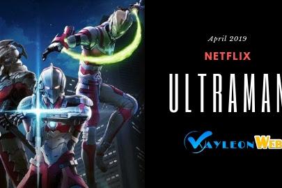 Ultraman 2019 Netflix anime series