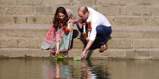 Prince William and Kate Middleton begin royal tour of India