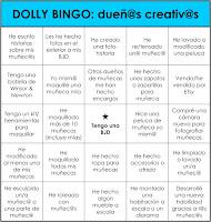 DOLLLY BINGO: Dueñ@s creativ@s
