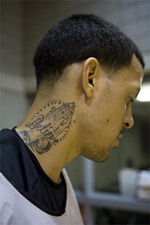 The gallery for --> Front Neck Tattoos For Men