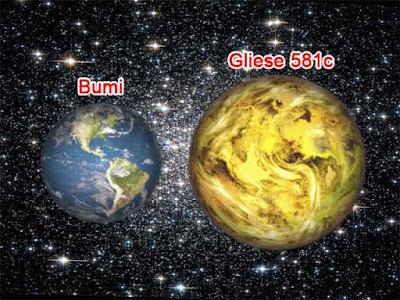 Planet Gliese 581 c