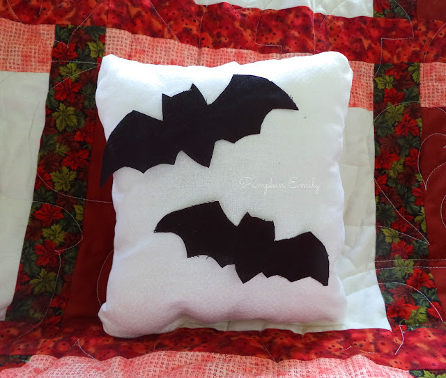 DIY Bat Pillow