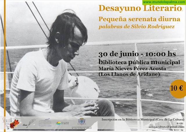 Desayuno literario de Seroja Cultura sobre Silvio Rodríguez