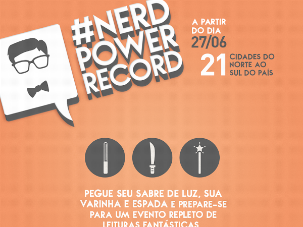 Nerd Power Record: 21 cidades!