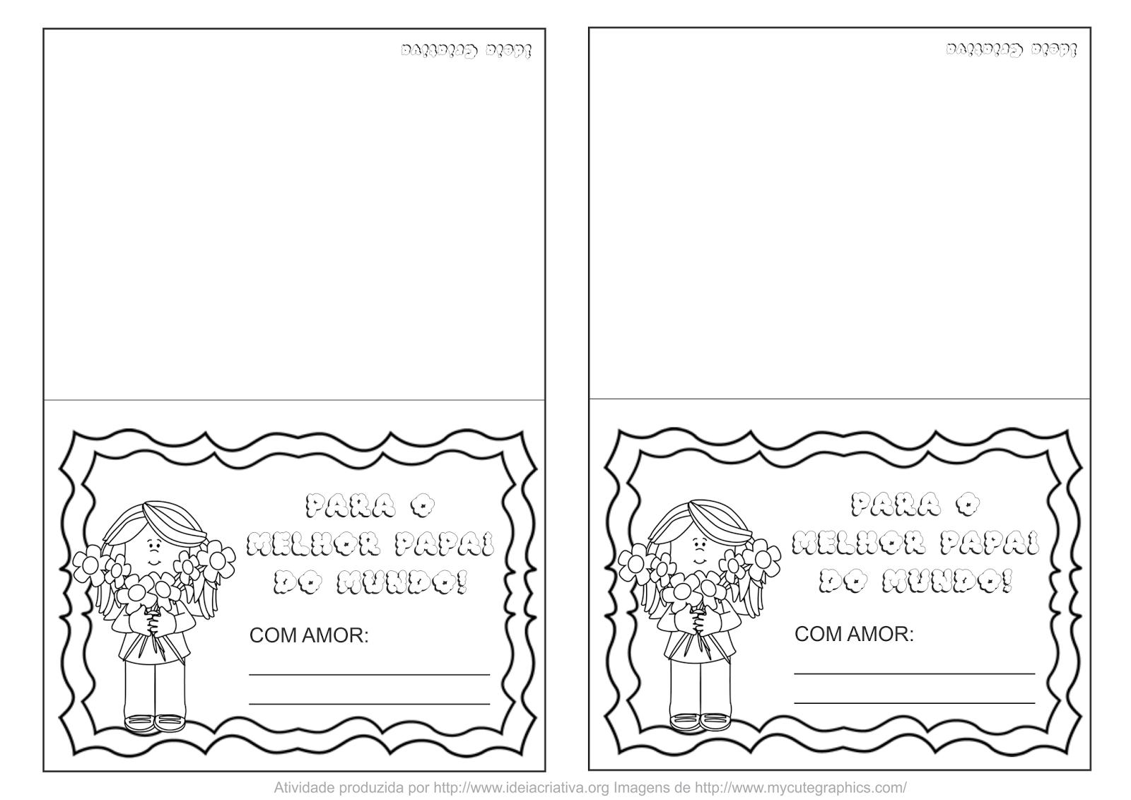 Cartao Dia Dos Pais Para Imprimir