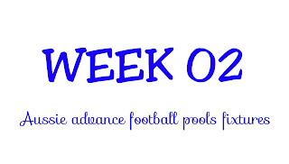 WEEK 02: AUSSIE FOOTBALL POOLS FIXTURES | 21-07-2018 | www.ukfootballplus.com.ng