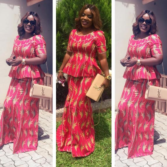 See what Nollywood star Empress Njamah wore to church yesterday