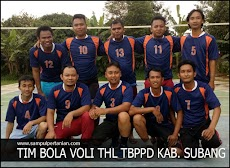 Inilah Tim bola voli THL-TBPPD Kab. Subang