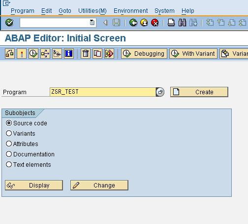 sap abap 4 tutorial menu exit rh sapabap 4 blogspot com Guide Direction SAP Software Tutorial