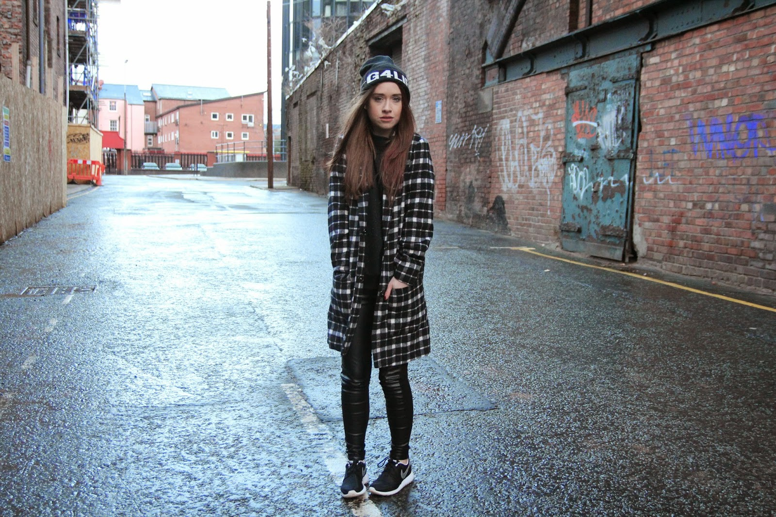 monochrome, nike, fashion blogger, fashion, blogger, fblog, fblogger, urban style, street style