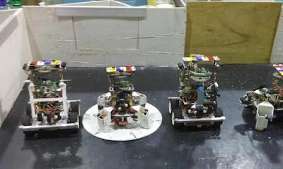 Tim Indonesia juara umum kompetisi robot dunia