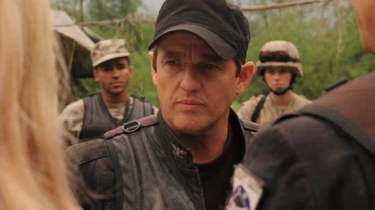 "Louis Ferreira as Colonel Young in SGU's ""Faith"""