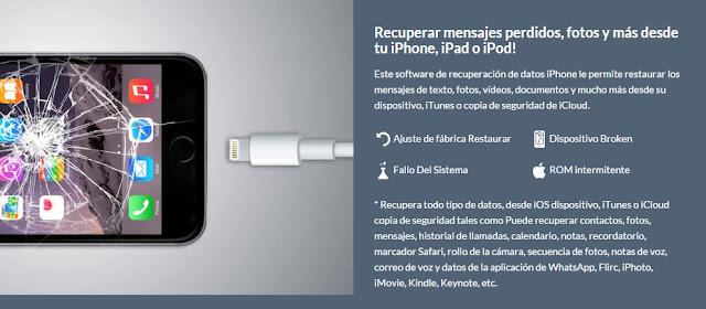 Se puede recuperar datos de iphone sin la nube