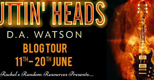 #BlogTour Cuttin' Heads by D.A. Watson