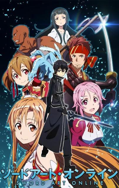 Sword Art Online Anime Completo