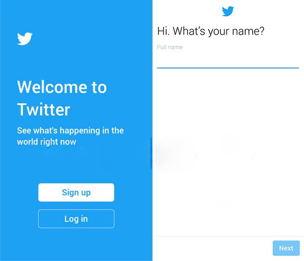 برنامج تويتر الجديد