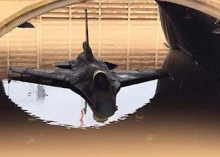 Delapan Jet Tempur F-16 Israel Terendam Banjir