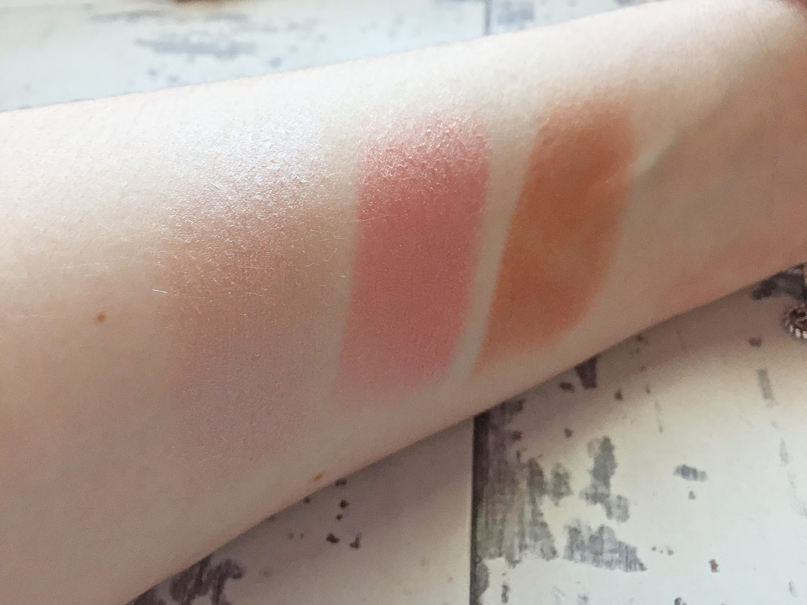 Soap & Glory Highlight and Sculpt Cheek Sticks Swatches