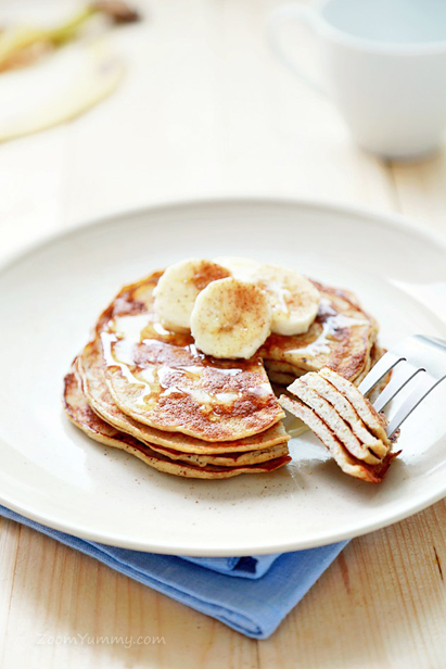 Healthy Snack Option Eat Clean Energy Morning Breakfast Pre Workout Banana Pancakes
