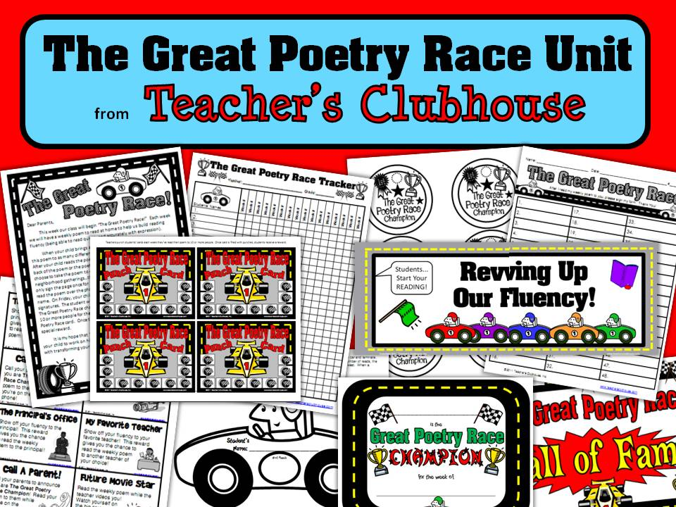 http://www.teacherspayteachers.com/Product/The-Great-Poetry-Race-Unit-359705