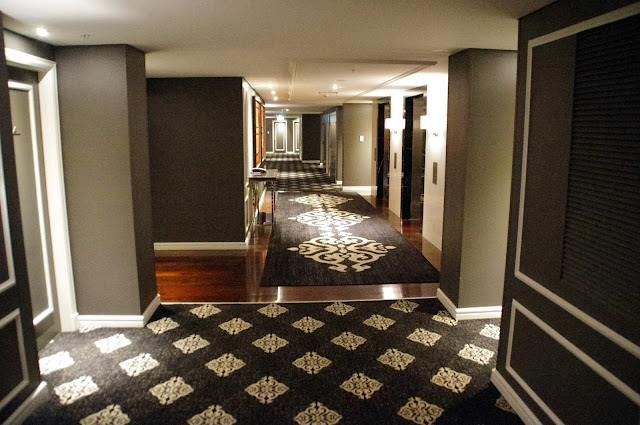 Corridors in swissotel sydney