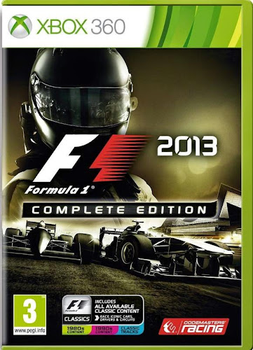 F1 2013 Complete Edition Xbox 360 Español Región Free