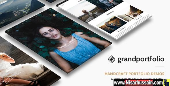 Grand Portfolio Premium Theme