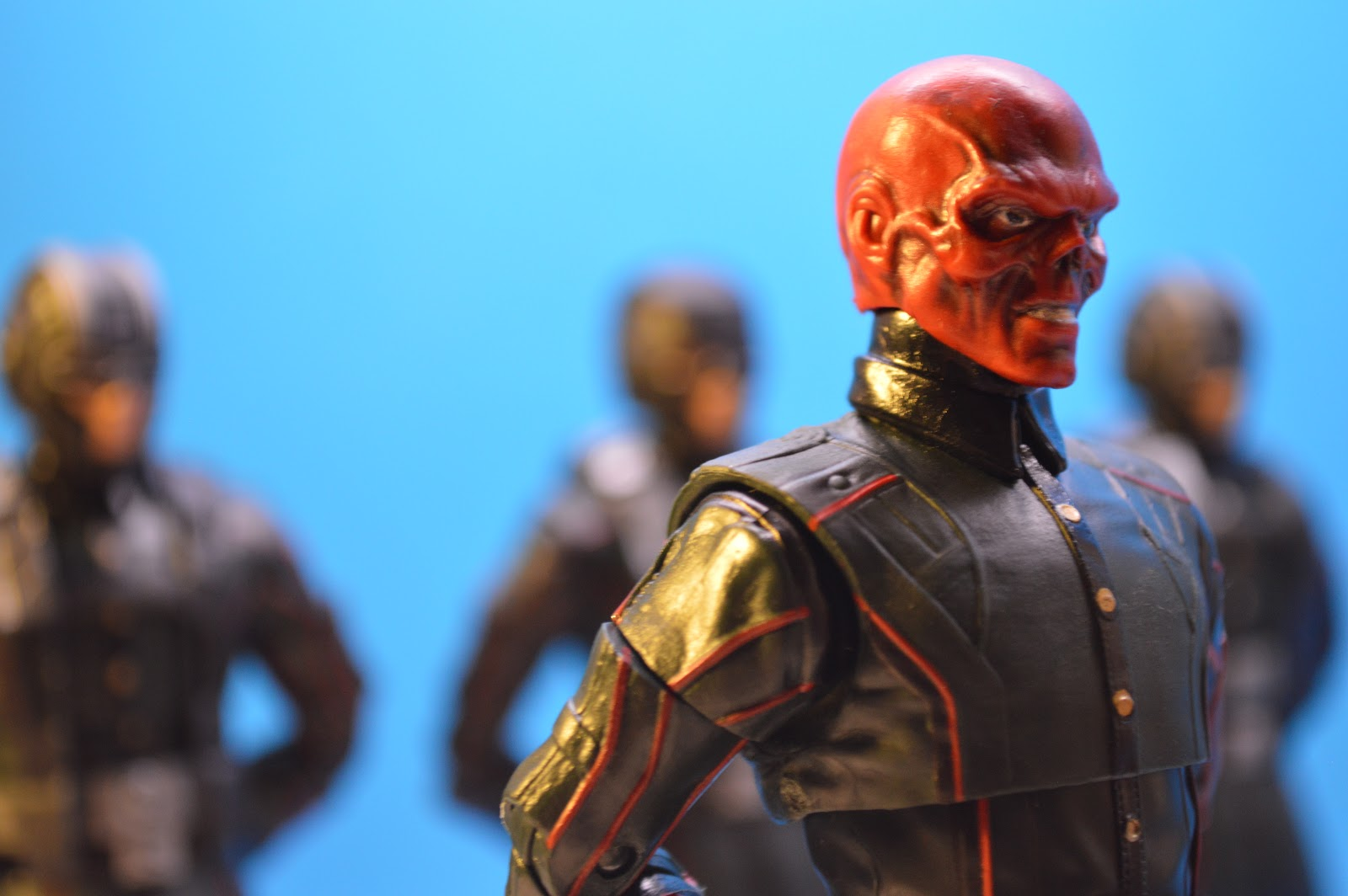 Loveymush Toy Reviews Review Marvel Stud10s Captain America The First Avenger 2011 Marvel Legends The First Ten Years Red Skull And Hydra Soldiers