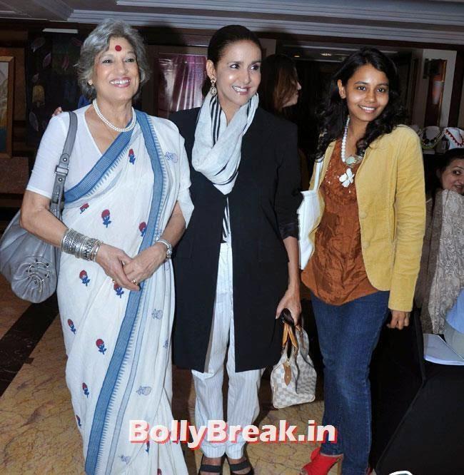 Dolly Thakore, Sharon Prabhakar and Sharon Prabhakar, Vishakha Singh in White Dress at Women Leaders In India Summit