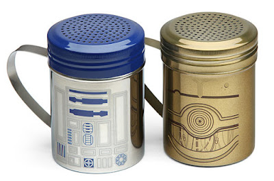 Starwars R2-D2 and C-3PO Spice Shaker Set
