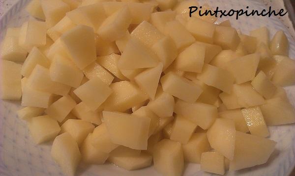 patatas, huevo, sal, aceite, cebolla, sin gluten, tortilla