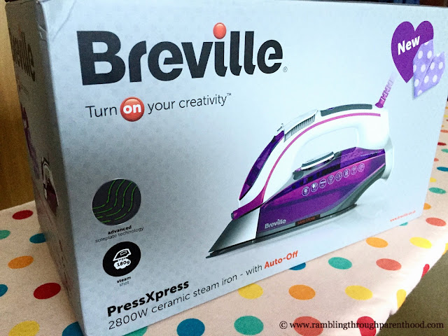 Breville PressXpress Ceramic Steam Iron