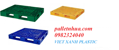 Pallet nhựa Việt Xanh