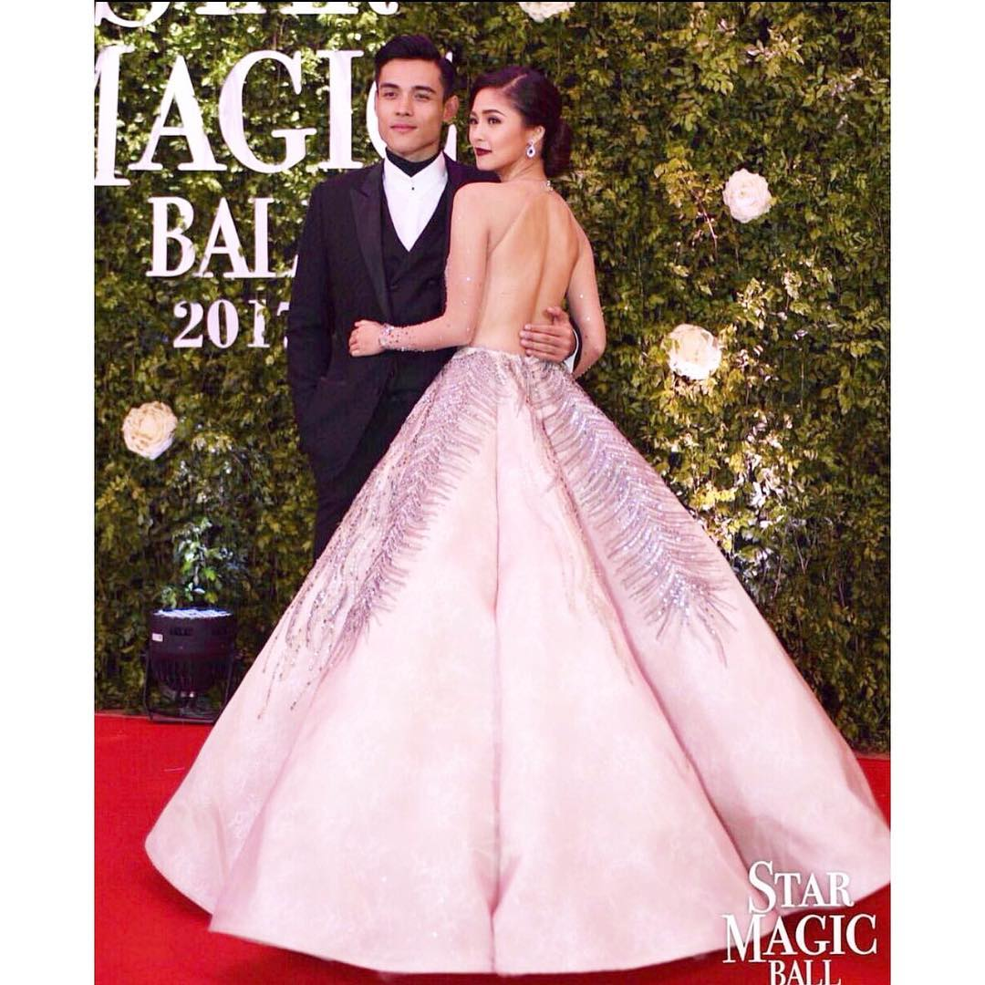 Kim Chiu breaks rules; opts out for a pink gown at the 2017 Star ...