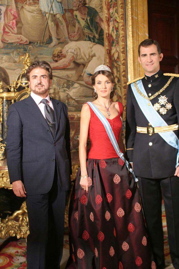 Ricardo  Sanz  con  los  Principes  de  Espana