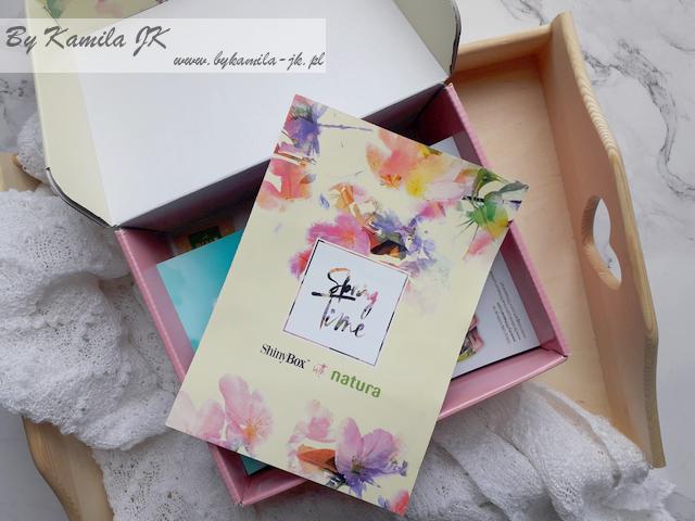 Shiny Box Spring Time Edycja kwiecień 2018