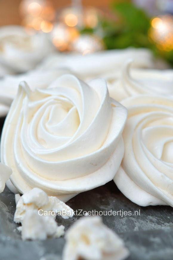 meringues zelf bakken