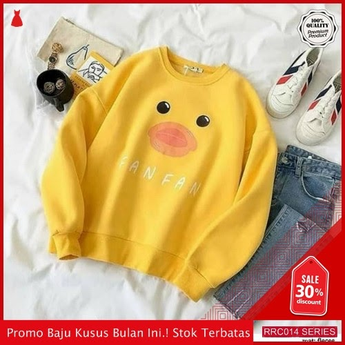 RRC014S41 Sweater Terbaru Cewe Fan Fan Wanita Terbaru BMGShop