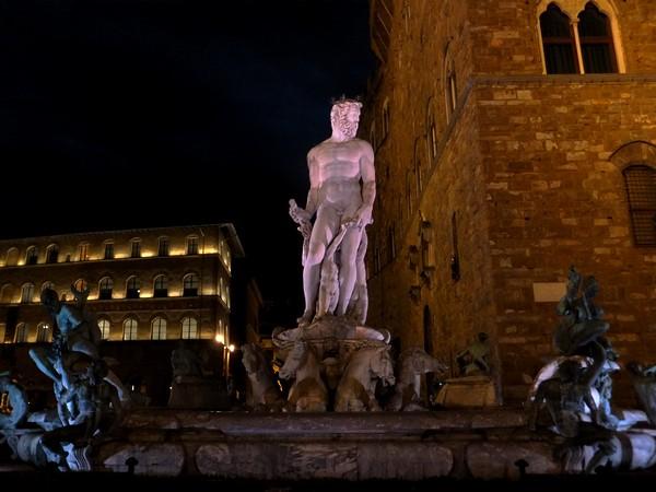 florence toscane palazzo vecchio fontaine neptune