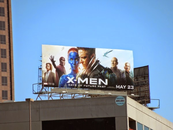 X-Men: Days of Future Past film billboard