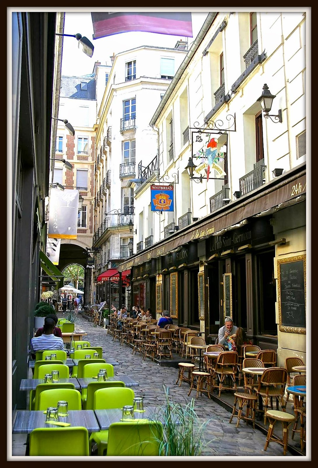 The Vintage Chateau French Sidewalk Cafes