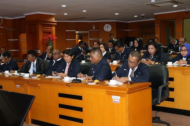 39 Orang Peserta Diklat PIM III Pemprov Maluku Belajar Ke Tangerang