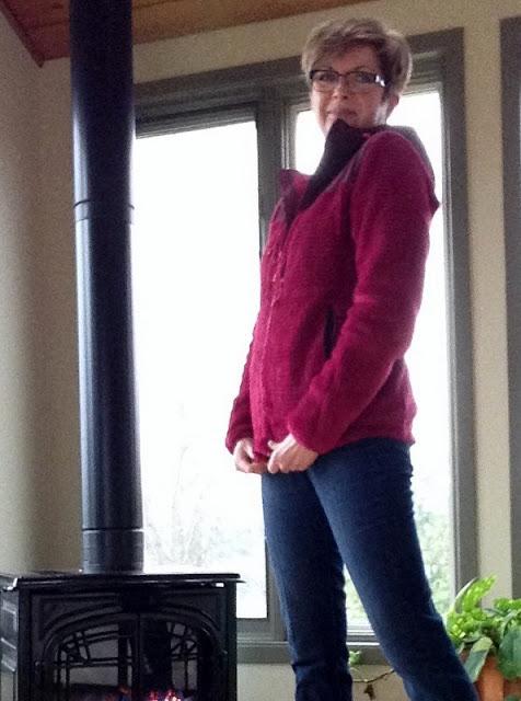 MEC raspberry hoodie