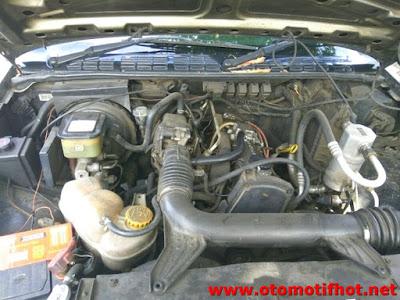 Spesifikasi Mesin Opel Blazer