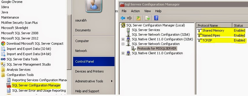 How To Explicitly Connect SQL Server Using Specific ( Named